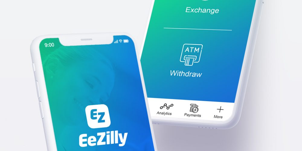 Ezilly website design and branding