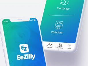 Ezilly website design and branding